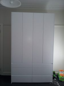 Aok kitchen wardrobe melbourne white and big