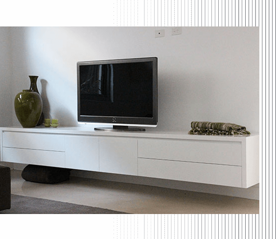 Entertainment Units and TV Units by AOK Kitchens
